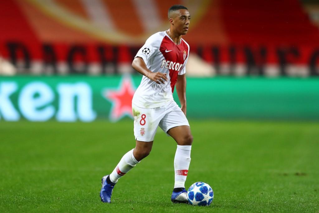 AS Monaco midfielder Youri Tielemans.