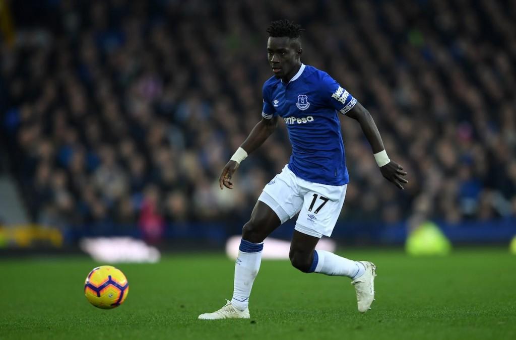 Everton midfielder Idrissa Gueye.