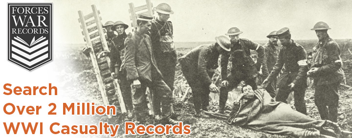 Forces War Records 'WWI Casualty Records (Missing, Wounded & Prisoner of War)' collection has now reached the milestone of over 2 million individuals records