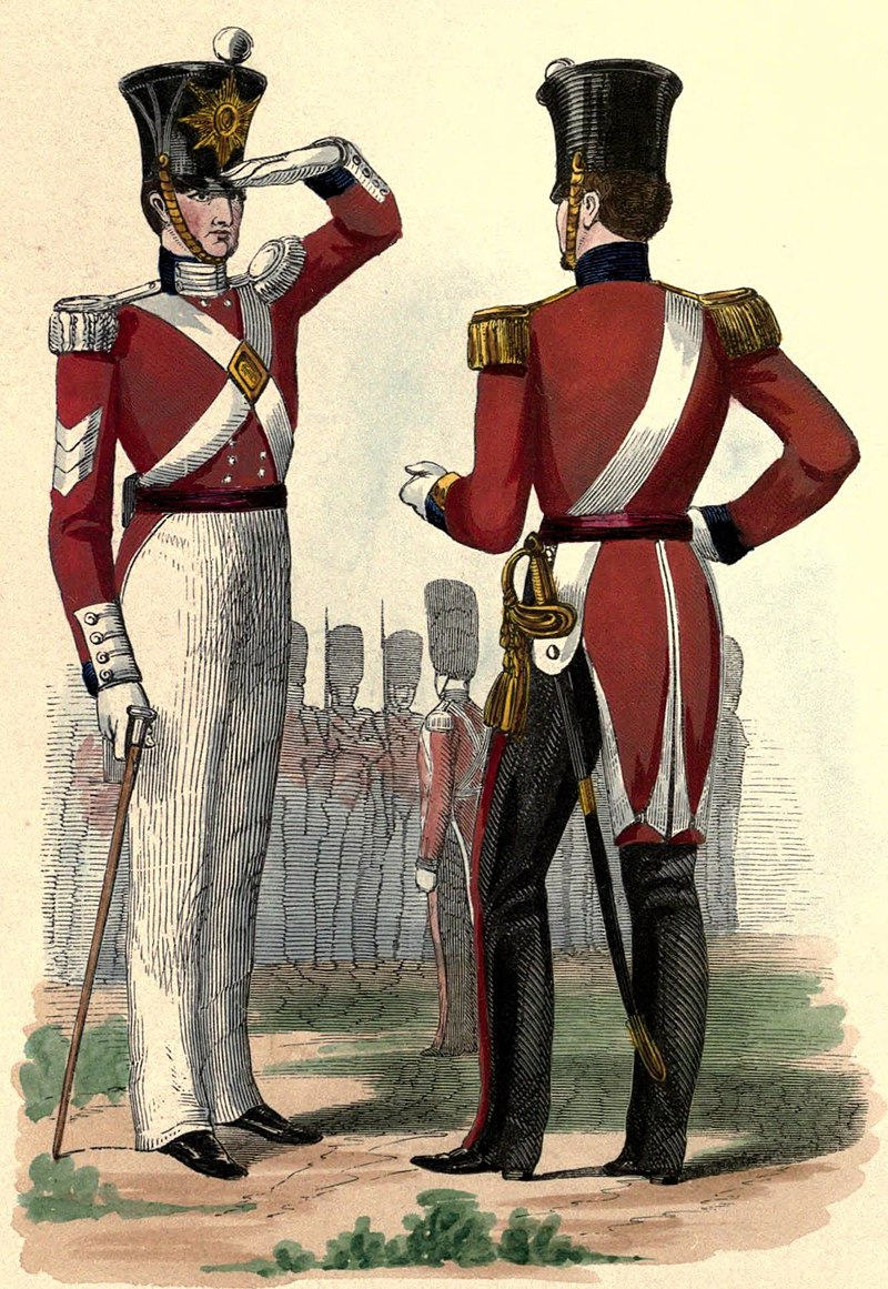 Uniform of the 86th Foot.