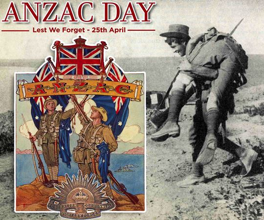 25th April - ANZAC Day