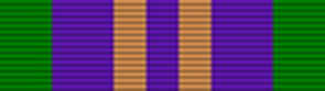 Accumulated Campaign Service Medal ribbon 2011