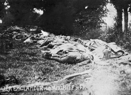 Allied dead at Fromelles
