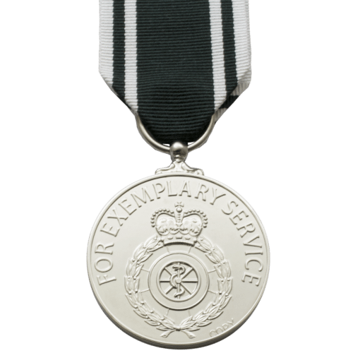 Ambulance Service (Emergency Duties) Long Service and Good Conduct Medal
