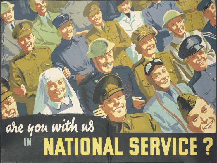 Are You with Us in National Service? Art.IWMPST13964