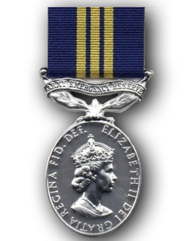Army Emergency Reserve Efficiency Medal