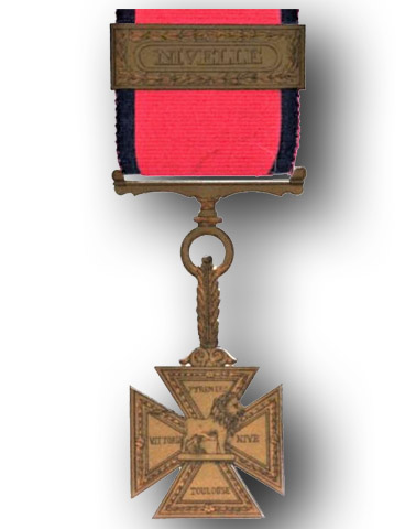 High quality official replica Army Gold Medal and Cross for sale