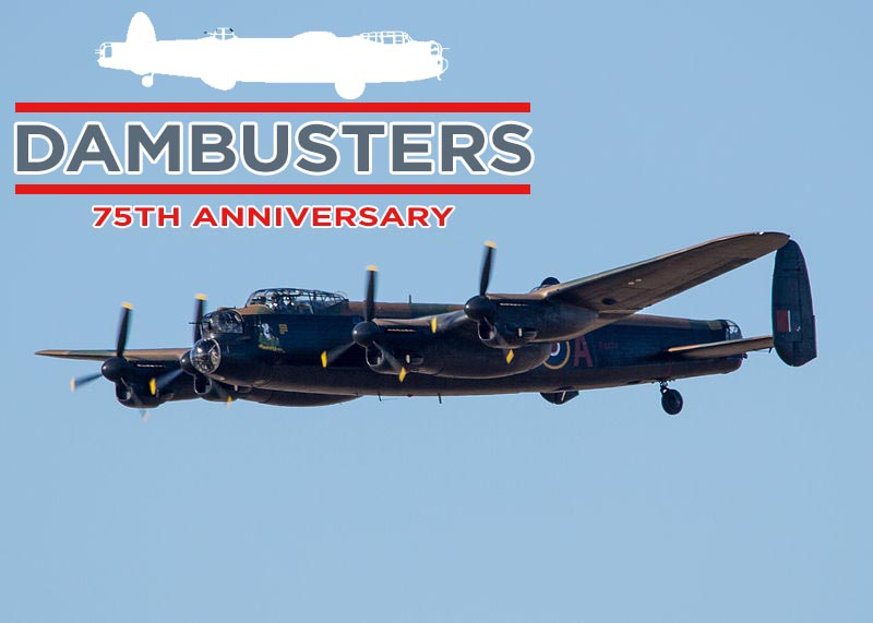 BBMF Lancaster to mark 75th Anniversary of Dambusters Raid