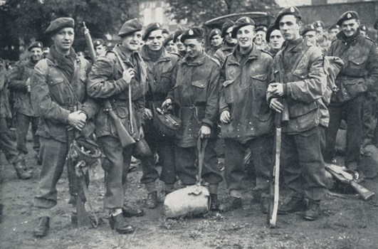 British troops returned from Arnhem