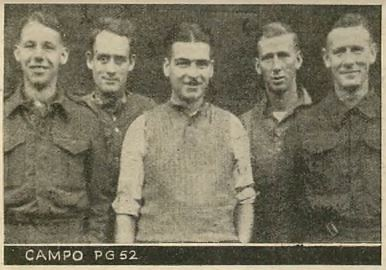 Prisoners of War held in Italy at CAMPO P.G. 52