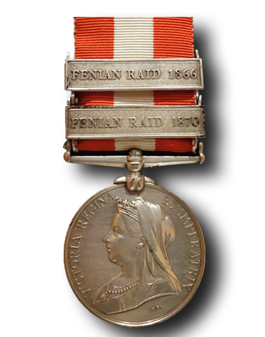 High quality official replica Canada General Service Medal (1866 – 70) for sale