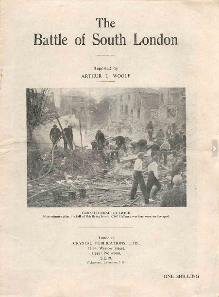 """The Battle of South London"" from the Forces War Records Historic Library."
