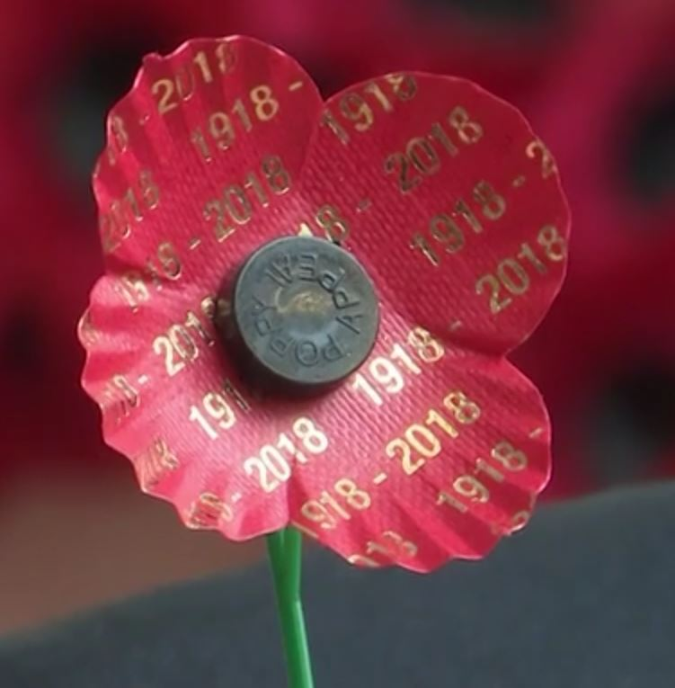 Centenary Poppy - (Image copyright Forces.net)