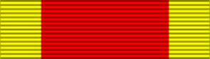 China War medal ribbon