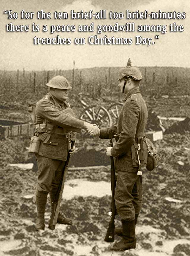 A happy memory of the Second Christmas Armistice
