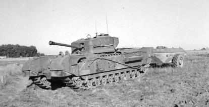 The Churchill Crocodile with ?ame projector - Wiki image