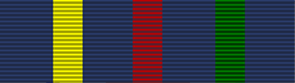 Civil Defence Long Service Medal ribbon