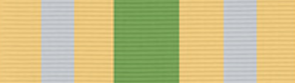 Civilian Service Medal (Afghanistan) ribbon