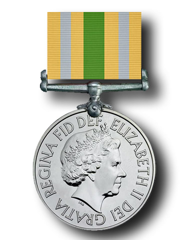 High quality official replica Civilian Service Medal (Afghanistan) (2011) for sale