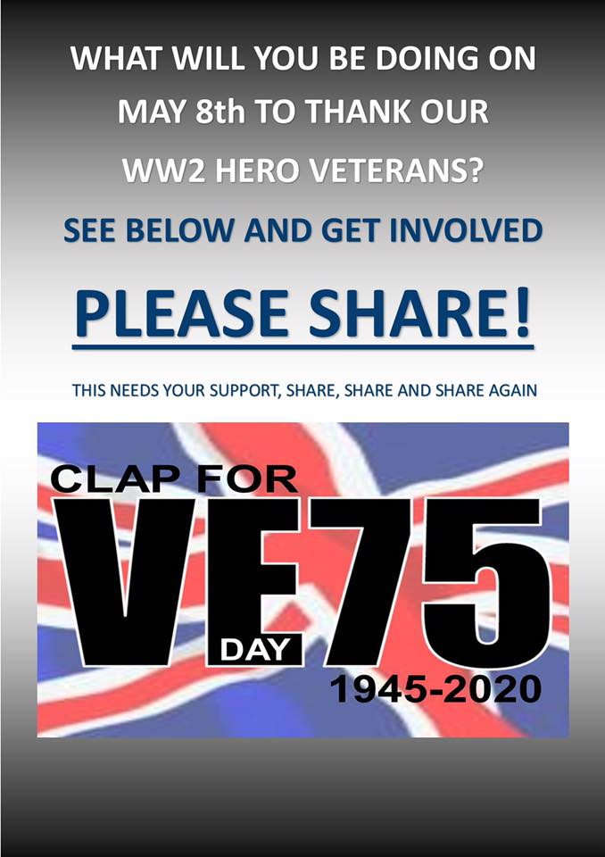 To get involved, join the Facebook group CLAP 4 VE 75