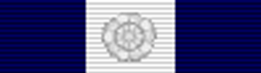 Conspicuous Gallantry Medal ribbon until 1921 with bar