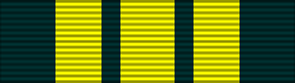 East and West Africa Medal ribbon