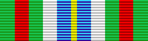Ebola Medal for Service in West Africa ribbon