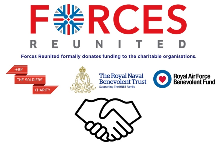 Forces Reunited charity donations