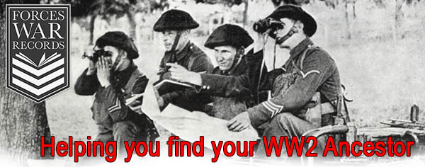 Forces War Records - Helping you find your WWII Ancestor