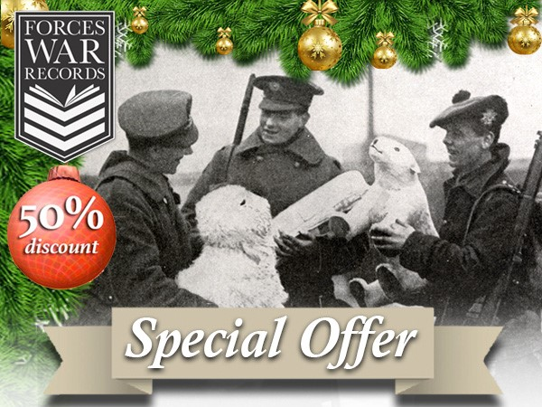 Half price Christmas offer from Forces War Records