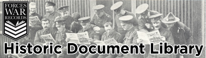 Forces War Records – Historic Document Library