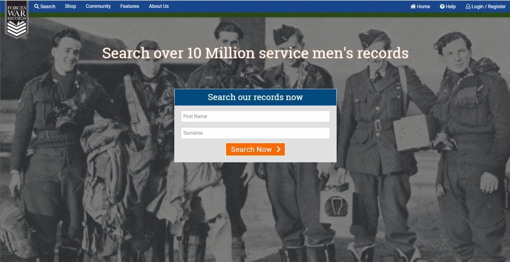 Forces War Records are pleased to announce the launch of new look website.