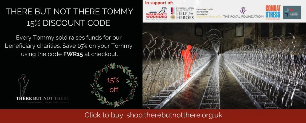 There But Not There Tommy 15% Discount Code