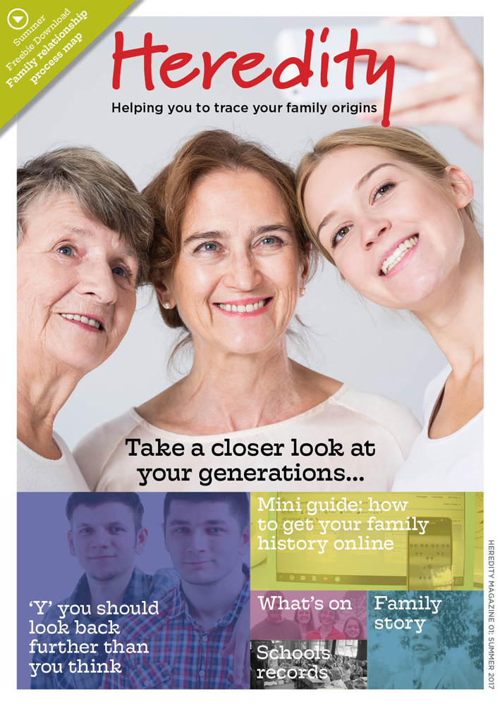 Heredity - a Genealogy magazine free to download from Forces War Records