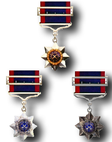 Indian Order of Merit (IOM)  (1ST, 2ND & 3RD Class)