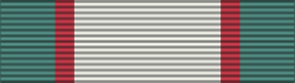 India General Service Medal (1936) ribbon