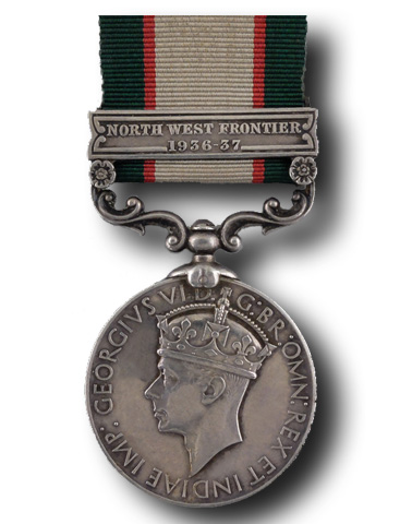 High quality official replica India General Service Medal (1936) for sale
