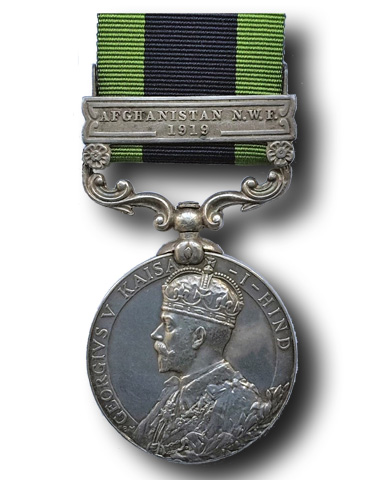 High quality official replica India General Service Medal (IGSM) (1909) for sale
