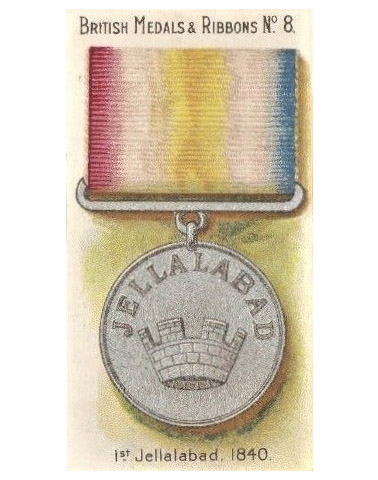 High quality official replica Jellalbad Medals 1842 for sale