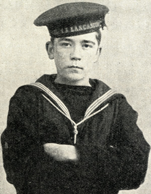 John Travers Cornwell VC boy of HMS Chester during the battle of Jutland
