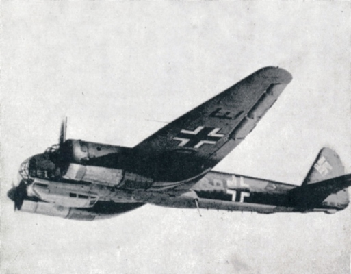 Junkers JU88 bomber