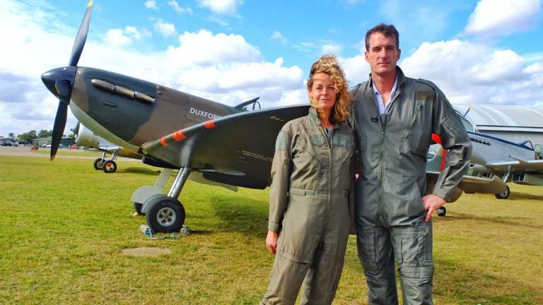 Kate Humble & Dan Snow -The Battle of Britain 3 Days That Saved the Nation (Image Credit: Channel 5)