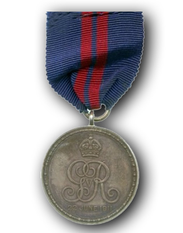 King George V Coronation Medal (1911)