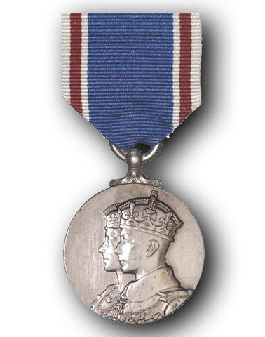 King George VI Coronation Medal (1937)