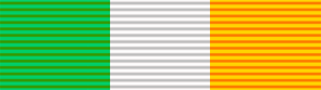 King's South Africa Medal ribbon