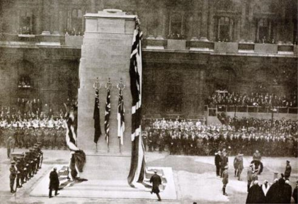 Unveiling of the Cenotaph