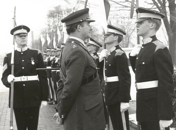 Forces War Records Very Own Veteran Richard Bartlett Looks Back On his time in The British Army