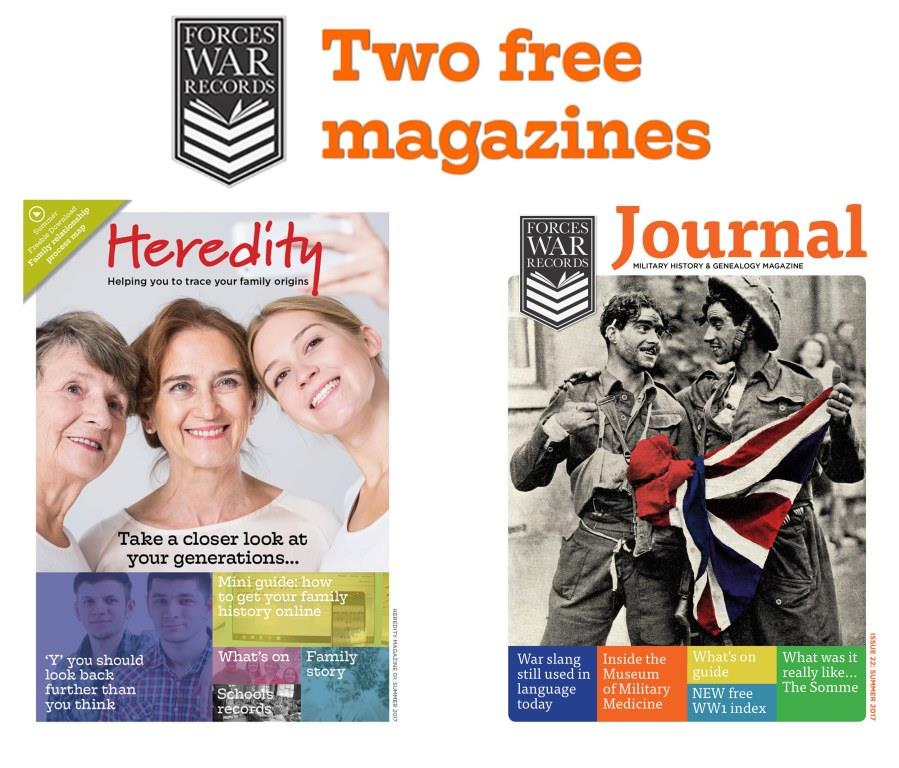 OUT NOW - We're giving you 2 magazines for free.