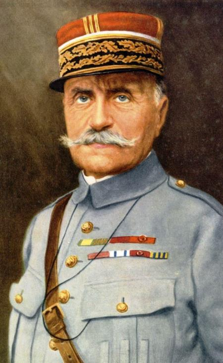 Marshal Foch, In supreme Command of the Allied Forces on the Western Front