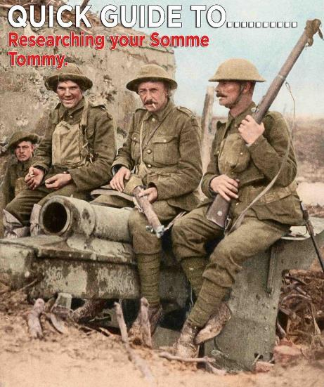 Quick Guide To Researching Your Somme Tommy
